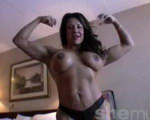 Gespierde vrouwen en bodybuildsters zijn geil