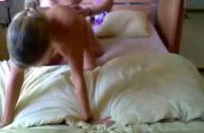 Cybersex op de hotelkamer