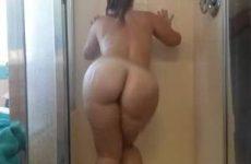 Mastuberen onder de douche